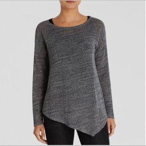 {EILEEN FISHER} Asymmetrical Waffle Weave Sweater